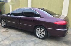 Peugeot 607 2009 Red For Sale
