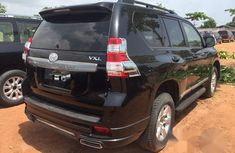 Tokunbo Toyota Land Cruiser Prado 2017 Black for sale