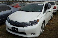 2014 LEXUS HX 250H White For Sale