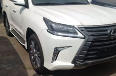 CLEAN LEXUS LX570 2017 WHITE UP FOR SALE..