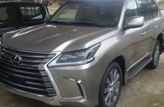 CLEAN LEXUS LX570 2017 SILVER UP FOR SALE..