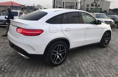 Mercedes Benz GLE 450 2016 White for sale