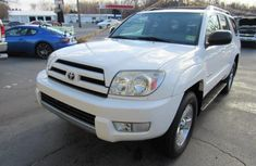 Foreign used Toyota 4-runner 2009 White for sale