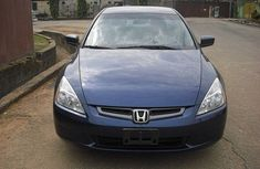 Neat Honda Accord blue 2006  for sale