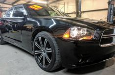 Very clean and foreign Dodge Charger for sale 2014 model Black