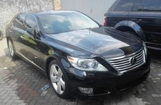 Lexus Ls 450 2012 Black model for sale with full options