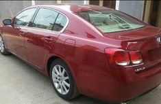 Very clean Lexus Gs 300 2008 Red model for sale with full options
