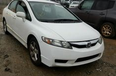 2010 Honda Civic White for sale