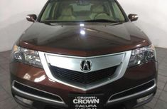 CLEAN ACURA MDX 2014 MODEL RED FOR SALE