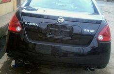 Nissan Maxima 2006 Black for sale