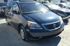 2010 Honda Odyssey Blue in good condition for sale