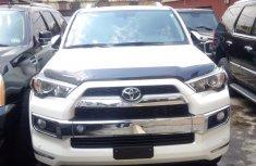 2015 Toyota 4-runner white for sale used