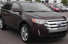 Clean super neat Ford Edge 2010 Red for sale