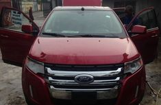 Clean red sharp charming tokunbo Ford Edge 2010 red for sale