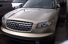 Good used Infinity Fx35 2004 Gold model for sale