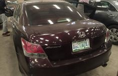 Clean Honda Accord 2008 model Red for sale