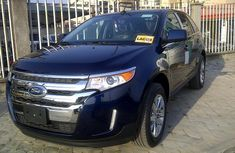 Clean used blue Ford Edge 2012 for sale