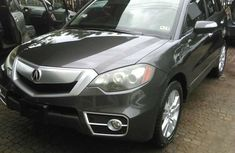 Clean Acura RDX 2010 Grey model Toks For Sale.