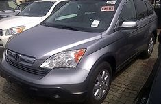 Good used Honda CRV 2004 model Grey for sale with full option