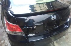 Tokunbo 2008 Honda Accord Black for sale