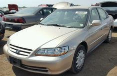 Honda Accord 2000 Gold Model For Sale