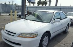 White Honda Accord 2000 For Sale