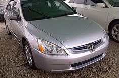 Honda Accord 2004 Silver for sale full option