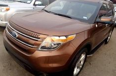 Ford Explorer 2013 Brown for sale