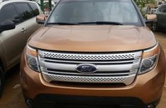 2012 Ford Explorer Orange for sale