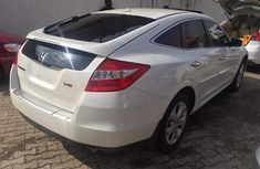 Foreign used Honda Accord Crosstour 2010 White for sale