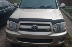 Toyota Sequoia 2007 Petrol Automatic Gold