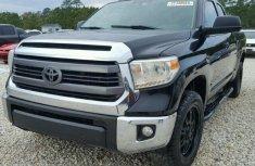 Toyota Tundra 2012 black for sale