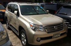 Neat Lexus GX460 gold 2010 for sale