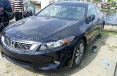 Neat Honda Accord 2009 Black for sale