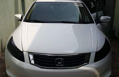 2009 Honda Accord evil spirit White for sale