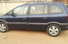 Opel ZafIRA 2001 blue for sale