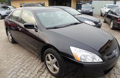 Leather sharp clean tokunbo Honda EOD 2005 black available now for sale