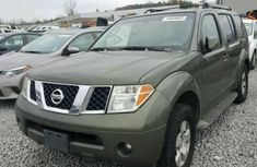 2005 Nissan Pathfinder Green for sale