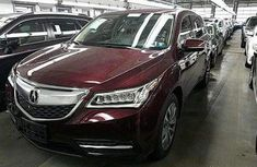 Acura MDX 2016 Red for sale in good condition with the complete papers and custom duty