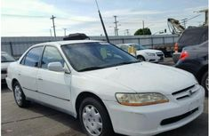 Honda Accord 2001 Model White For Sale