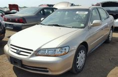 Honda Accord 2000 Model Gold For Sale