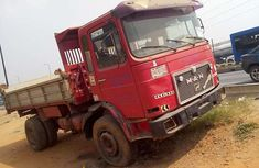 MAN Diesel Tipper 1992 Red for sale