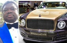 [Video] Check out Olu Okeowo's N2 billion car collection: 6 Roll Royce, 4 Phantoms, 2 Ghosts & 1 Bentley