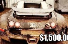 The world's top 10 most expensive cars left abandoned