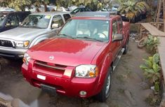 Nissan Frontier SVE V6 4WD 2004 Red for sale