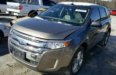 FORD EDGE LIMITED 2014 BROWN FOR SALE