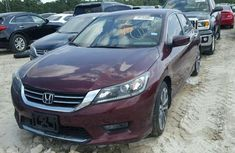HONDA ACCORD SPORT 2015 RED FOR SALE