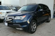 London used Acura MDX 2009 Blue for sale