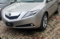 CLEAN ACURA ZDX 2012 MODEL SILVER FOR SALE