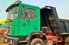 Man diesel Tipper 2007 Green for sale